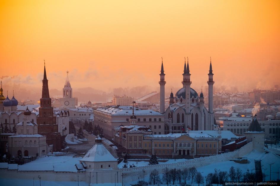 русский художник достопримечательности казани зимой фото только знать что