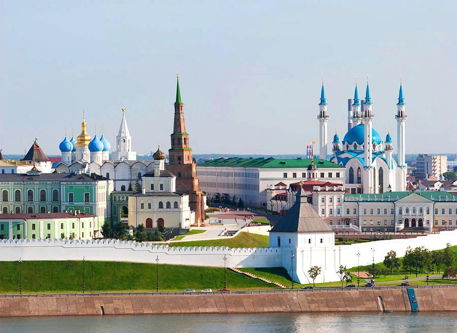 Старинный Казанский Кремль