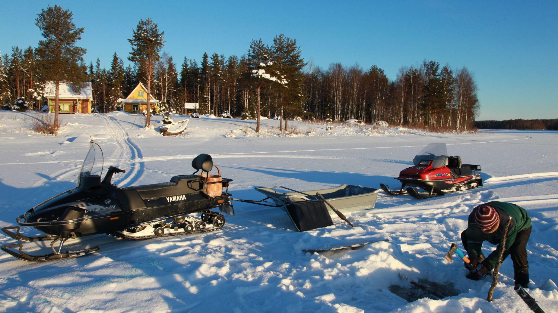 Зимняя рыбалка в Карелии: особенности ловли, цены